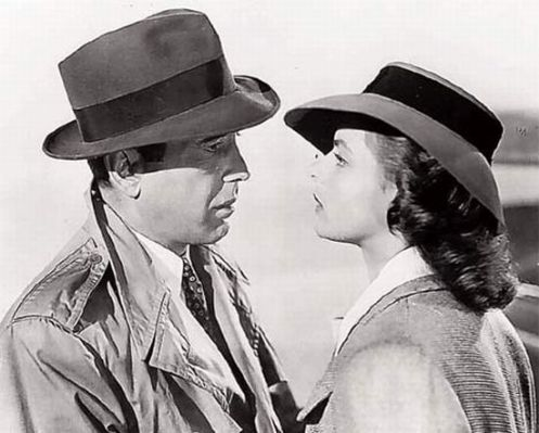 Ingrid Bergman & Humphrey Bogart Casablanca Movie
