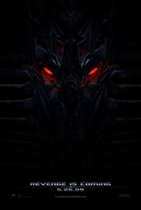 Transformers Revenge of the Fallen Poster 1