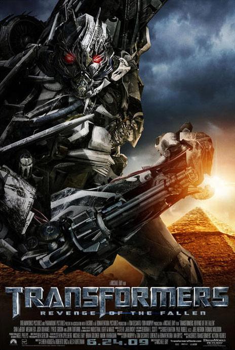 Transformers Revenge of the Fallen Poster 2