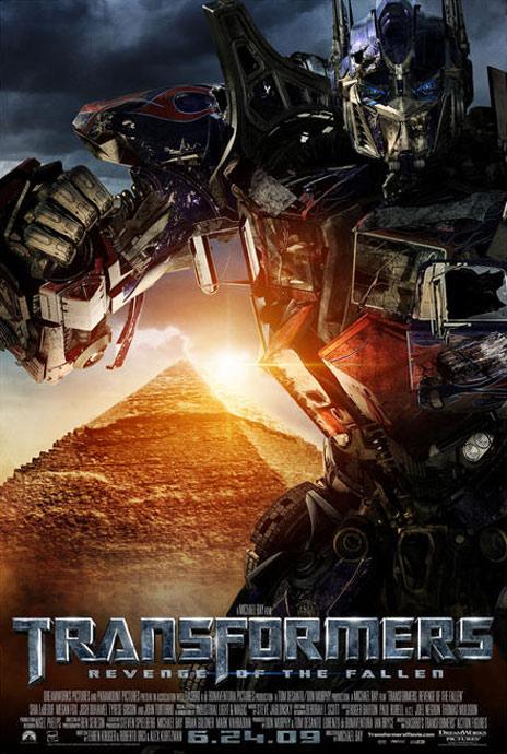 Transformers Revenge of the Fallen Poster 3
