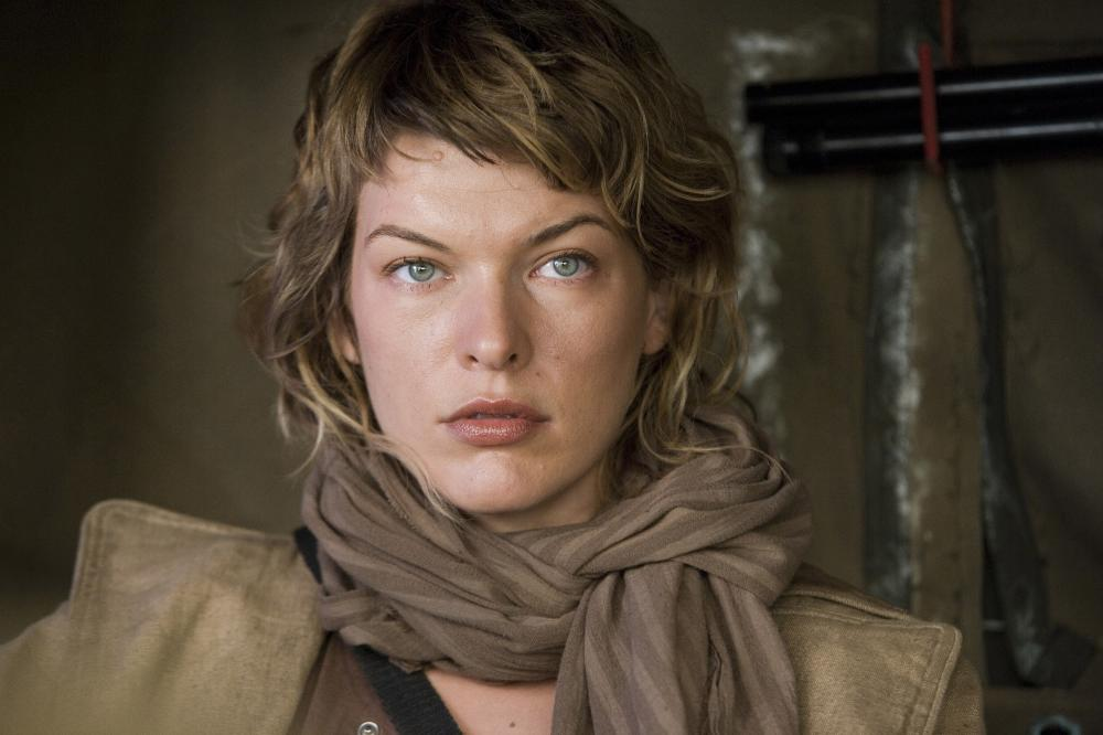 Milla Jovovich – Resident Evil Extinction movie photo ...