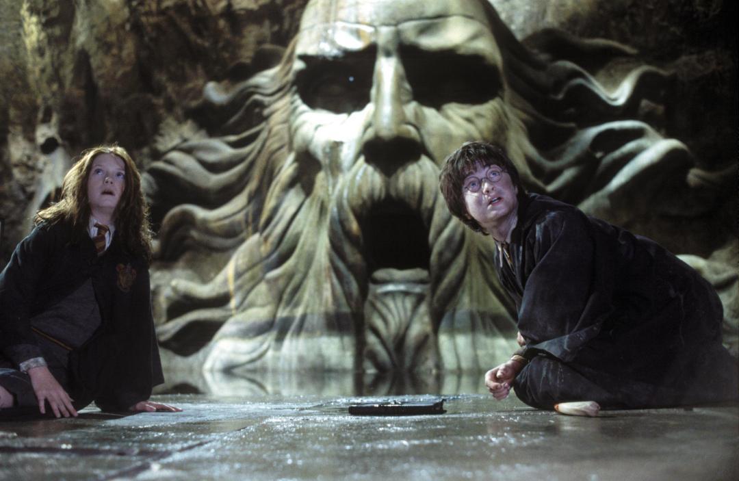 Resultado de imagem para harry potter and the chamber of secrets movie scenes