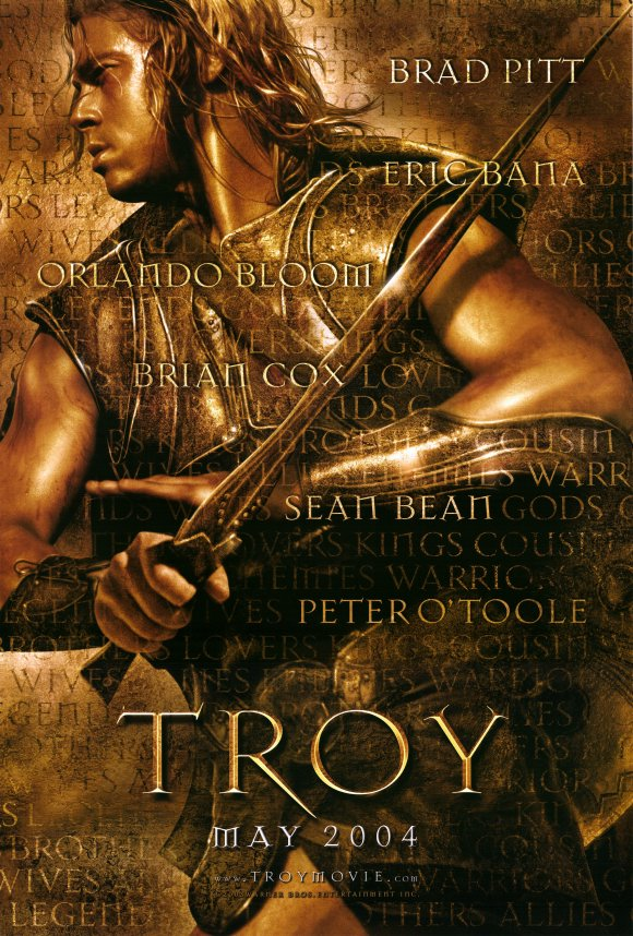 troy film review Homer's epic has inspired in troy a cartoonish joke of a film, with a painfully misconceived performance from brad pitt 2004 review by tim robey.