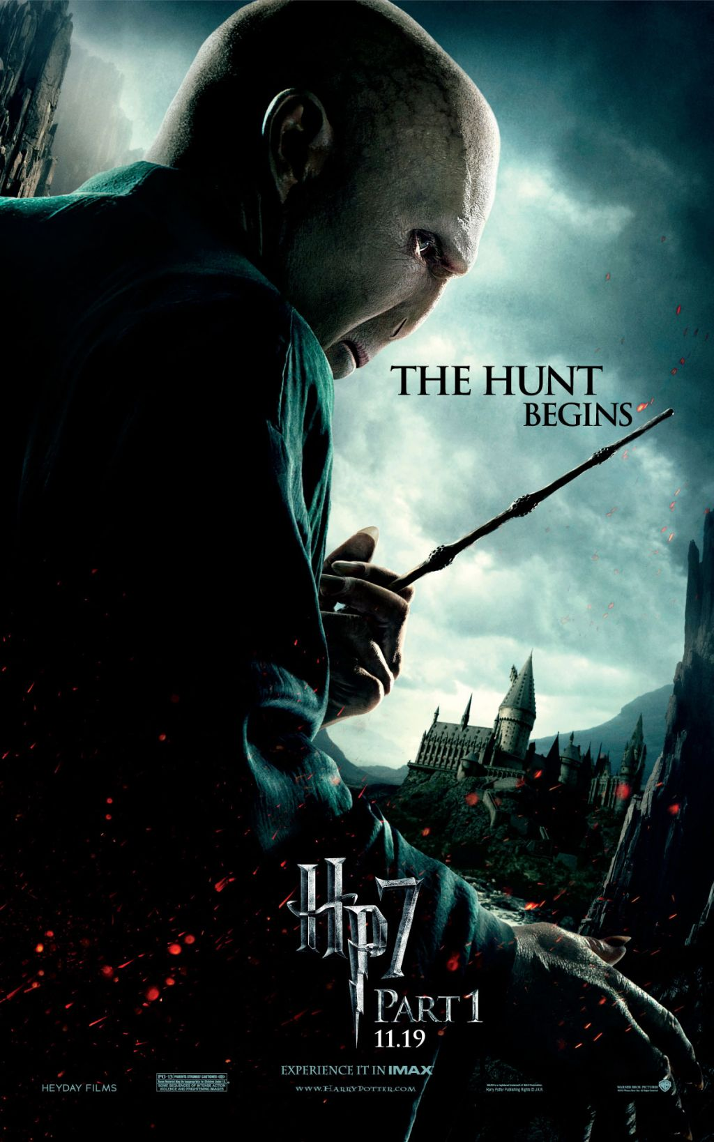 Harry potter and the deathly hallows part i movie posters for Harry potter and the deathly hallows wand