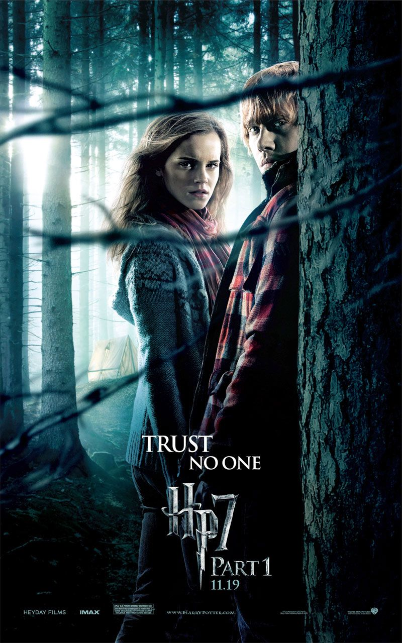 harry potter and the deathly hallows part i movie posters